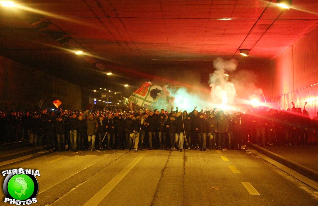 Le peuple vert a enflammé le Parc Saint-Jacques