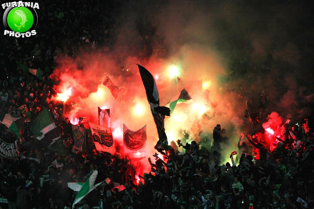 Sanction : enflammer un stade ne plait toujours pas à la Ligue