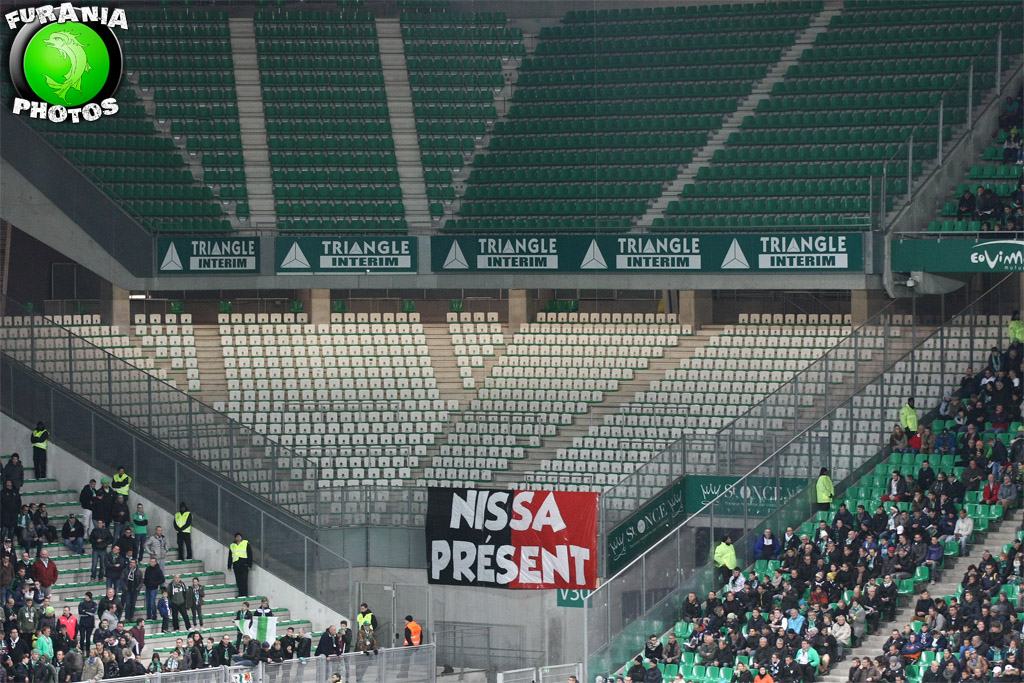 La Populaire Sud boycott Geoffroy-Guichard