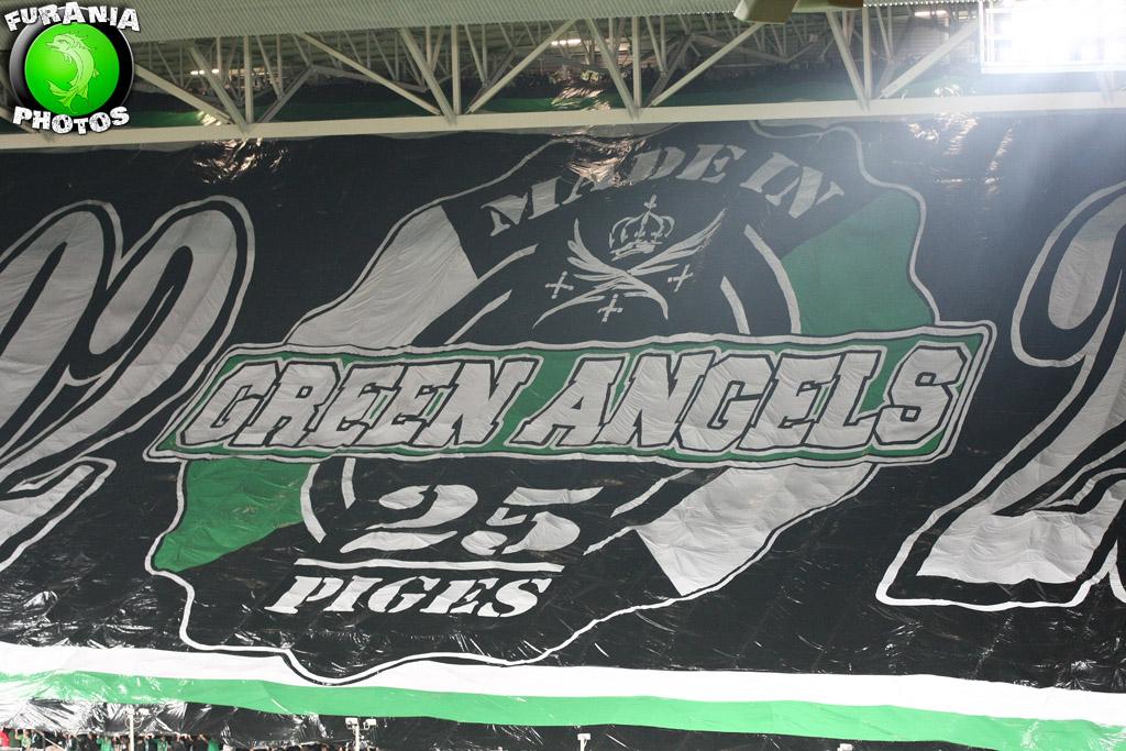 Les Green Angels ont soufflé leurs bougies
