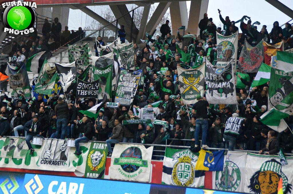 #SDRASSE : Des mesures d'encadrements prises contre les supporters des Verts